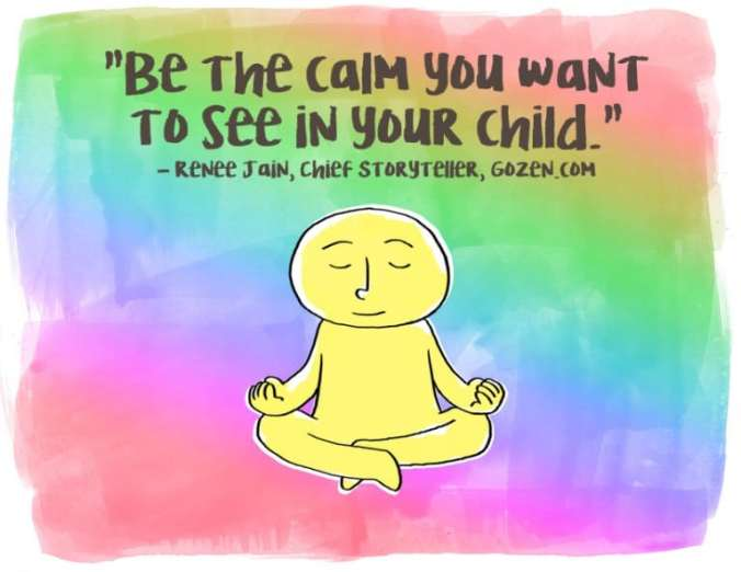 be the calm